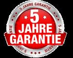 5 Jahre Garantie !
