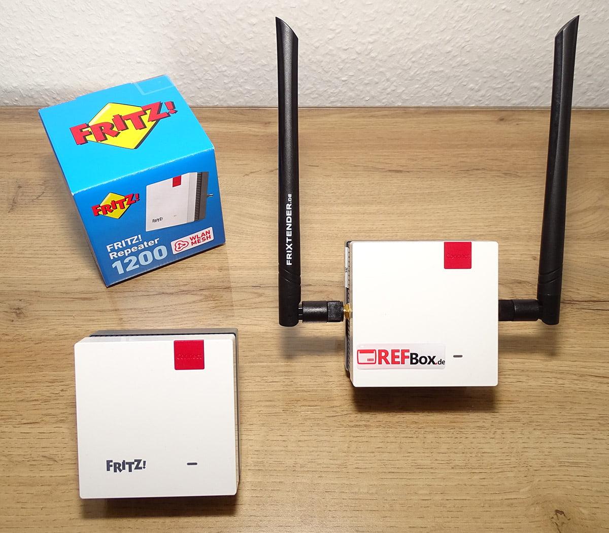 W LAN Repeater 20, 20 und 20 von AVM im Vergleich – REFBox